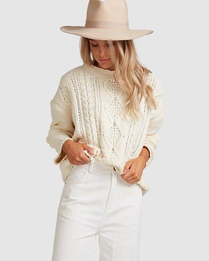 1 Only Yours Sweater Beige 6517295 Billabong