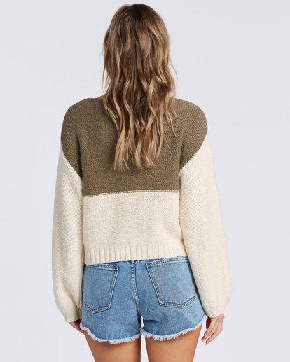 2 Seeing Stripes Sweater Green 6517297 Billabong