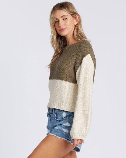 1 Seeing Stripes Sweater Green 6517297 Billabong
