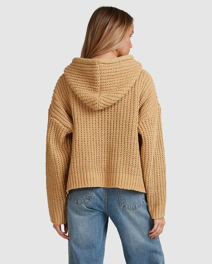 6 Nelly Hooded Sweater Yellow 6517304 Billabong