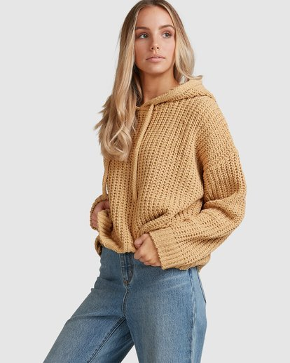 3 Nelly Hooded Sweater Yellow 6517304 Billabong