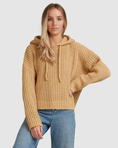4 Nelly Hooded Sweater Yellow 6517304 Billabong