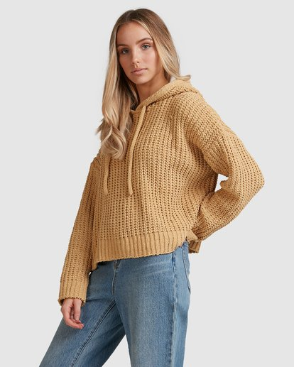 5 Nelly Hooded Sweater Yellow 6517304 Billabong