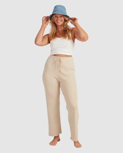 0 Sundown Knit Pant - Steph Claire Smith Beige 6517306 Billabong