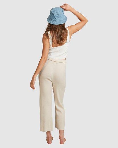 5 Sundown Knit Pant - Steph Claire Smith Beige 6517306 Billabong