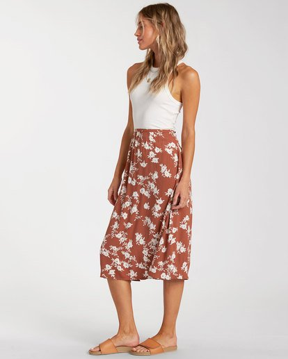 1 Wild and Free Skirt Brown 6517319 Billabong