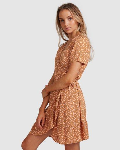 3 Ma Bonita Wrap Dress Yellow 6517461 Billabong