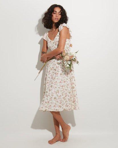 0 Songbird Midi Dress White 6517462 Billabong