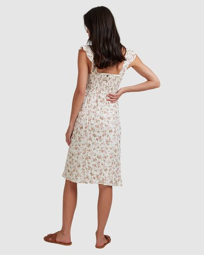 4 Songbird Midi Dress White 6517462 Billabong