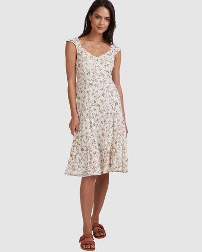 1 Songbird Midi Dress White 6517462 Billabong