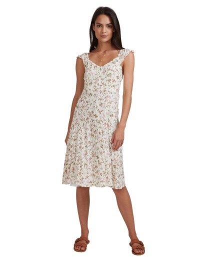 2 Songbird Midi Dress White 6517462 Billabong