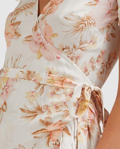5 Shallows Wrap Dress White 6517463 Billabong