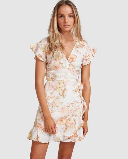 1 Shallows Wrap Dress White 6517463 Billabong