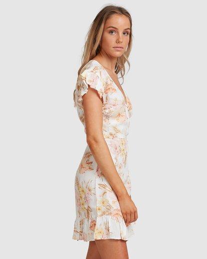 3 Shallows Wrap Dress White 6517463 Billabong