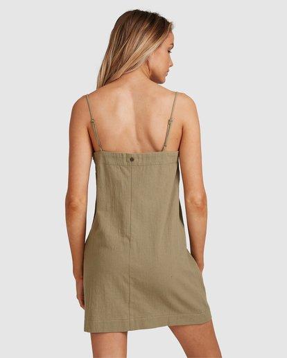 3 Sunset Cotton Dress Green 6517465 Billabong