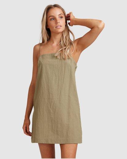1 Sunset Cotton Dress Green 6517465 Billabong