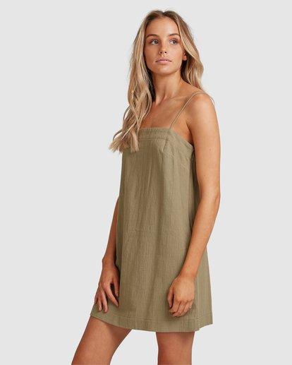 2 Sunset Cotton Dress Green 6517465 Billabong