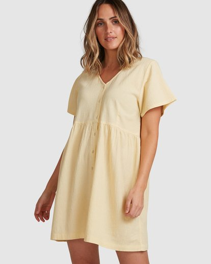 0 Daisy Dress Yellow 6517468 Billabong