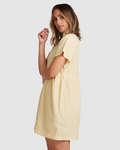 2 Daisy Dress Yellow 6517468 Billabong