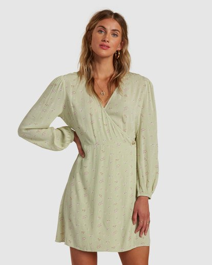 0 Lotta Love Dress Green 6517470 Billabong