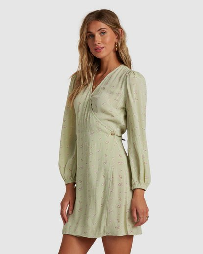 1 Lotta Love Dress Green 6517470 Billabong