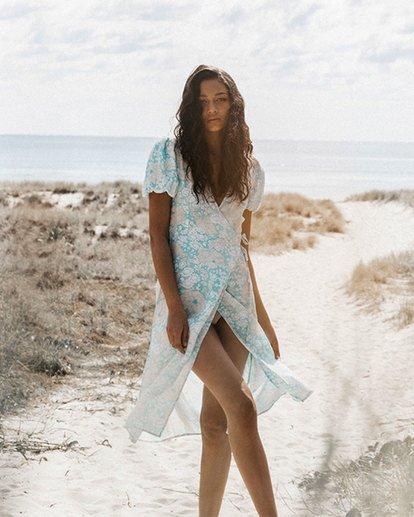 1 Blue Ray Midi Wrap Dress Blue 6517472 Billabong