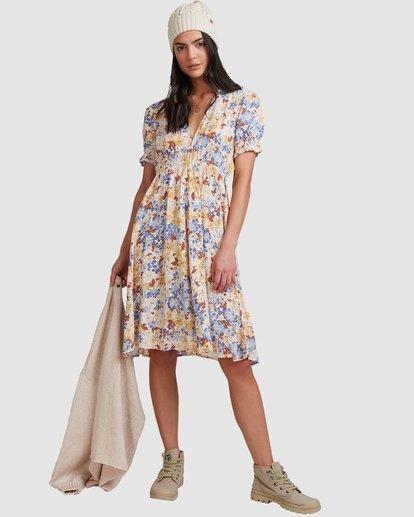 1 Hula Moon Midi Dress White 6517476 Billabong