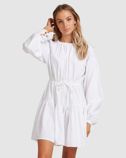 2 Sun Child Dress White 6517477 Billabong