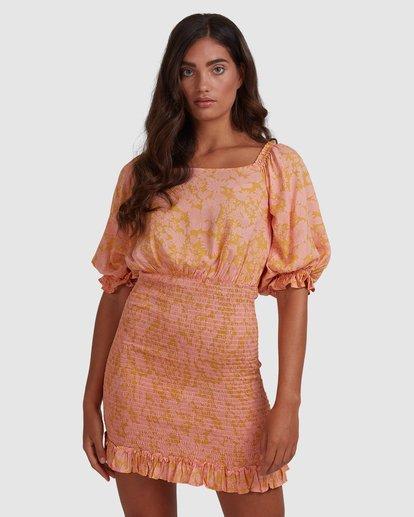 1 Summer Sun Dress Orange 6517484 Billabong