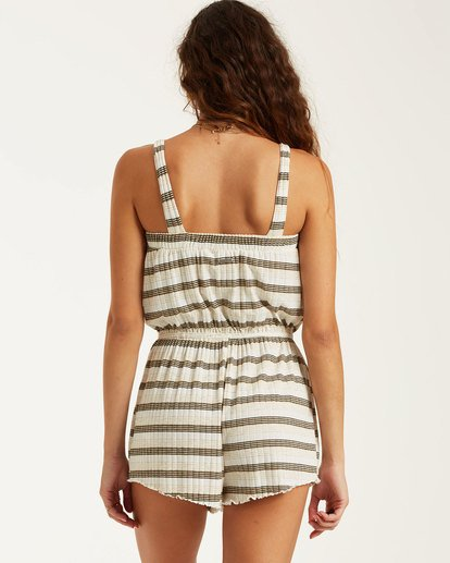 2 Move Free Jumpsuit Beige 6517499 Billabong