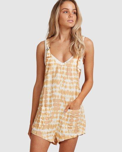 0 Weekender Sun Ray Jumpsuit Yellow 6517521 Billabong