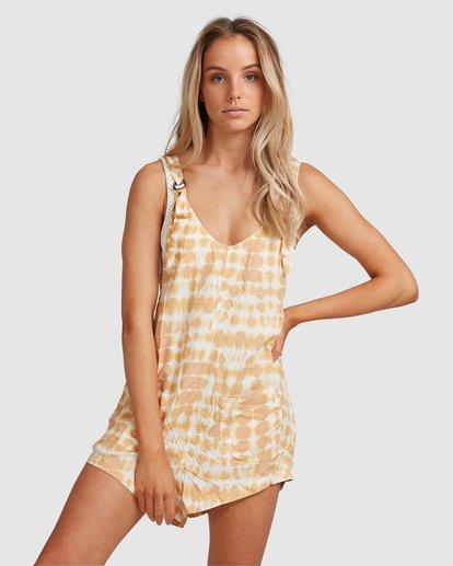 1 Weekender Sun Ray Jumpsuit Yellow 6517521 Billabong