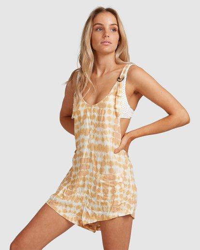 2 Weekender Sun Ray Jumpsuit Yellow 6517521 Billabong