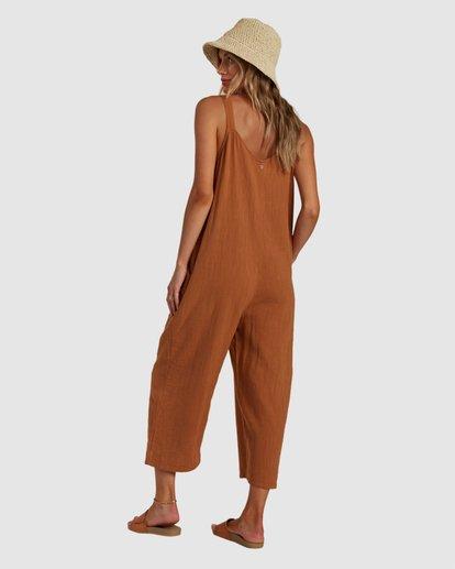 2 Daydream Jumpsuit Brown 6517531 Billabong
