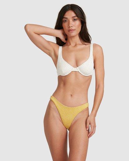 2 Candy Spot Bra Bikini Top White 6517707 Billabong