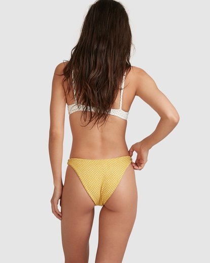 2 Candy Spot Hike Bikini Bottoms Yellow 6517710 Billabong