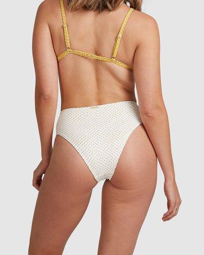 3 Candy Spot Hi Maui Bikini Bottoms White 6517711 Billabong