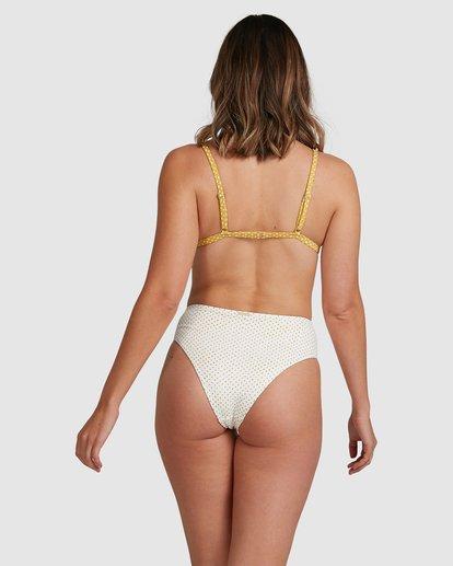 1 Candy Spot Hi Maui Bikini Bottoms White 6517711 Billabong