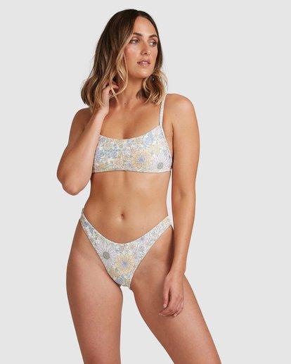 2 Sundance Billie Bralette Bikini Bottoms White 6517712 Billabong