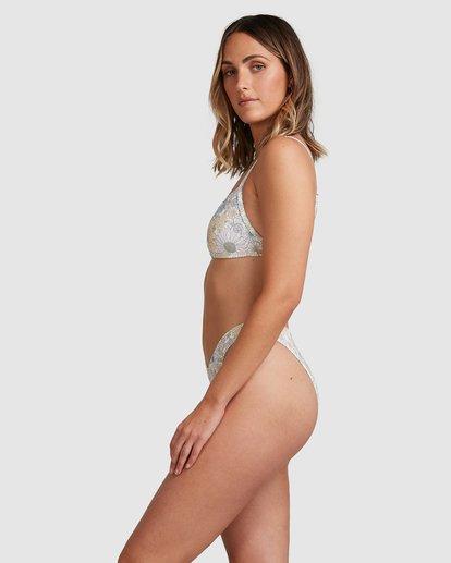 3 Sundance Billie Bralette Bikini Bottoms White 6517712 Billabong
