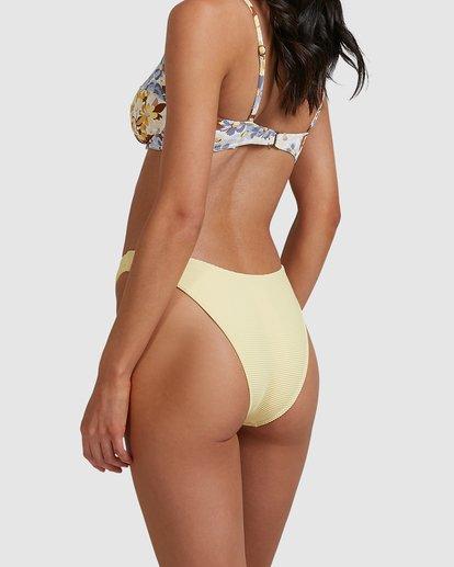 3 Tanlines Hike Bikini Bottoms Yellow 6517730 Billabong