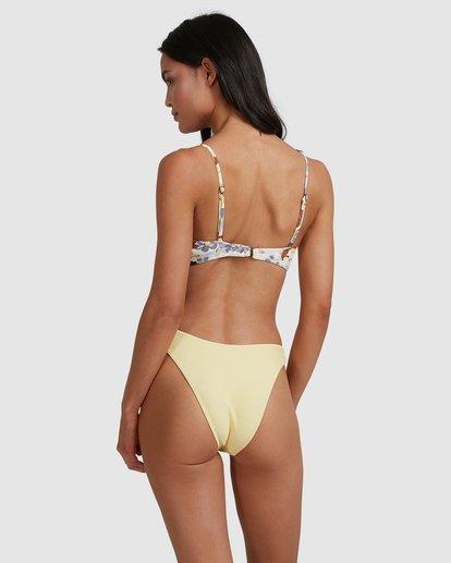 5 Hula Moon Nova D/DD Bra Bikini Top White 6517738 Billabong