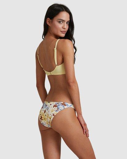 0 Hula Moon Tropic Bikini Bottoms White 6517740 Billabong
