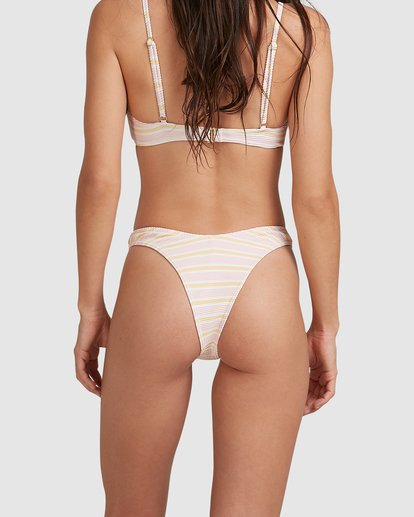 4 Molly Stripe Skimpy Hike Bikini Bottoms Pink 6517774 Billabong