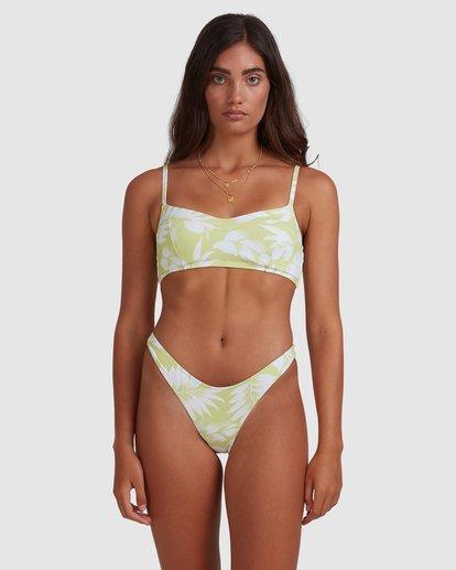 2 Sundrenched Vintage D/DD Bralette Bikini Top Green 6517914 Billabong