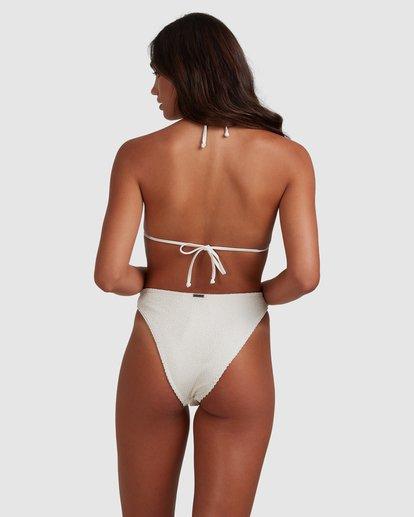 4 Summer High Elongated Tri Bikini Top White 6517935 Billabong