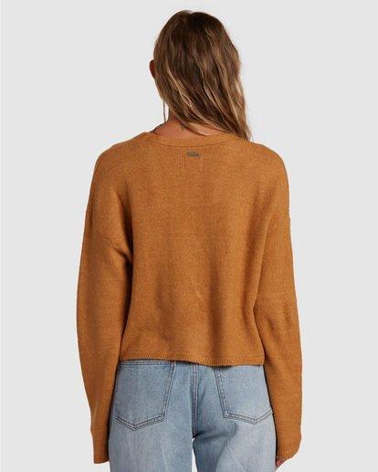 3 Short N Sweet Sweater Brown 6517954 Billabong