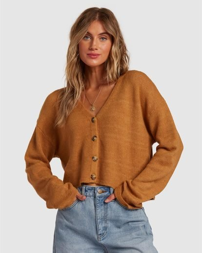 1 Short N Sweet Sweater Brown 6517954 Billabong