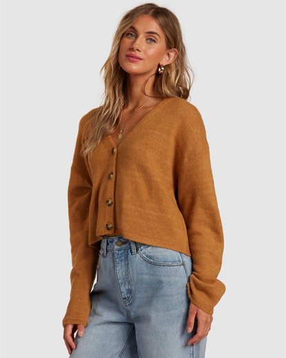2 Short N Sweet Sweater Brown 6517954 Billabong