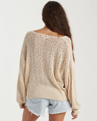2 Feel The Breeze Sweater White 6517956 Billabong